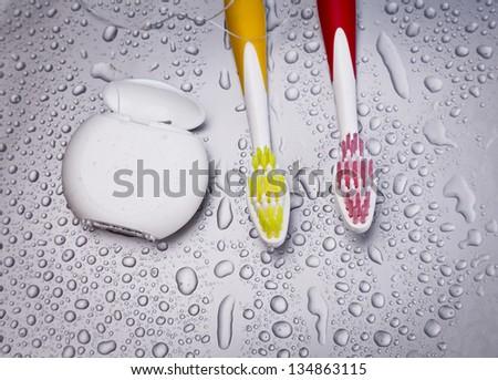 dental health care concept - stock photo