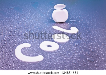 dental health care concept and sterile conditions - stock photo