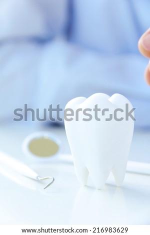 Dental Hygiene Concept - stock photo