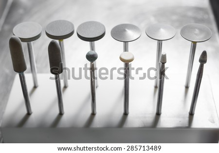 dental tools - stock photo