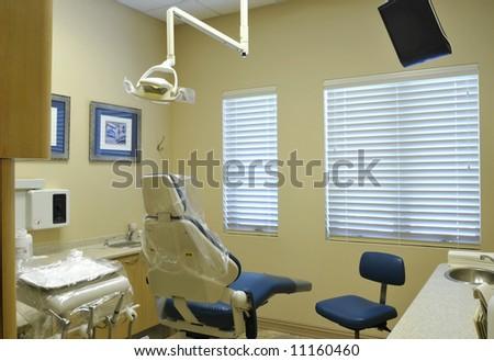 Dental Treatment Room - stock photo