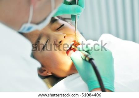 dentist - stock photo