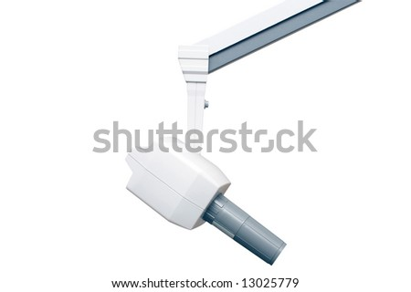 Dentistry x-ray unit in the hospital - stock photo