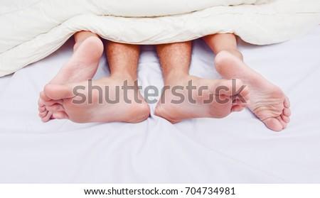 Girls having sex feet