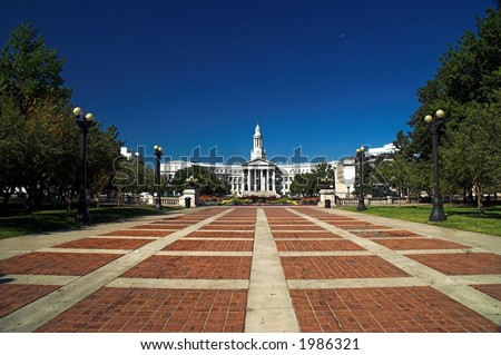 Denver City and County Building - stock photo