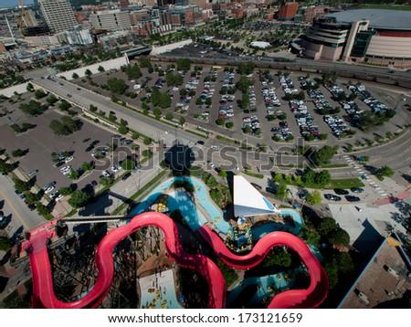 Elitch Gardens Six Flags Amusement Park In Denver Images