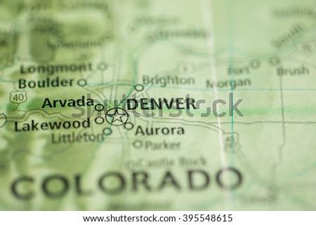Denver. Colorado. USA - stock photo