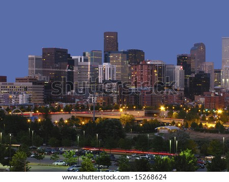 Denver night line