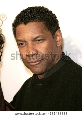 Denzel Washington at THE GREAT DEBATERS Premiere, ArcLight Cinerama Dome, Los Angeles, CA, December 11, 2007 - stock photo
