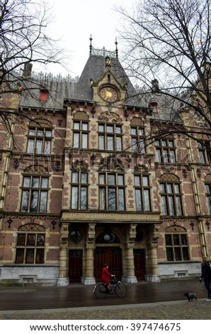 Department of Justice in the Hague (Den Haag) / Netherlands (Holland)