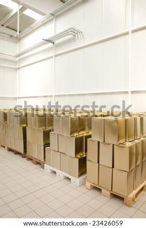 depot - stock photo
