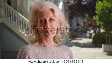 white woman Mature