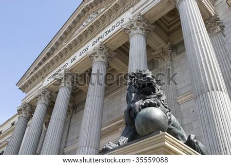 Deputy Palace - stock photo