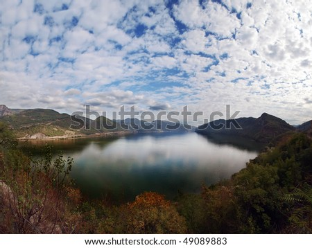 Derdap national park - stock photo