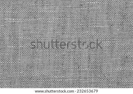 Description:  Black and white photograph of textured backdrop. Title:  Gray Tweed background. - stock photo