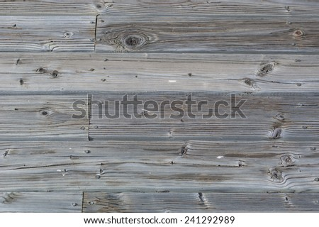 Description:  Rough wooden surface with weathering present. Title:  Rough and Weathered Wood. - stock photo