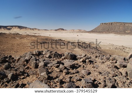Desert and Rocks