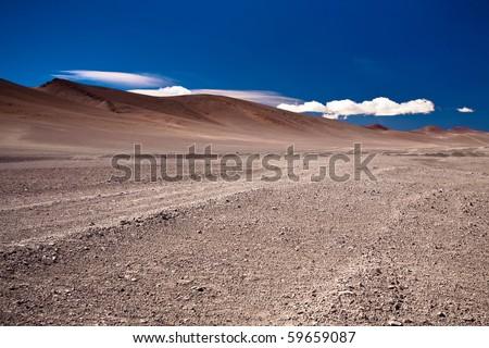 desert Atacama, Chile - stock photo