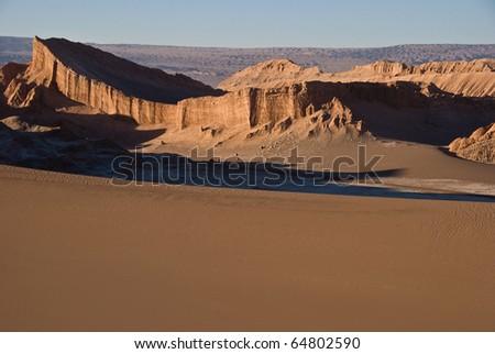 Desert, Atacama, Chile. - stock photo