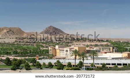 Desert Community - stock photo