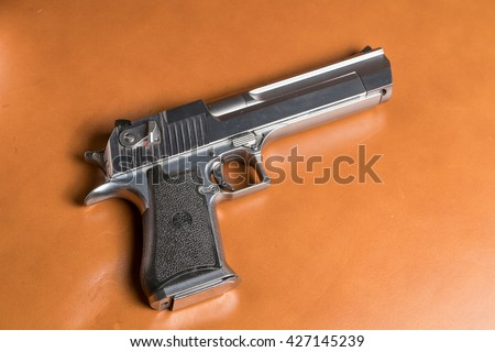 Desert Eagle airsoft gun   - stock photo