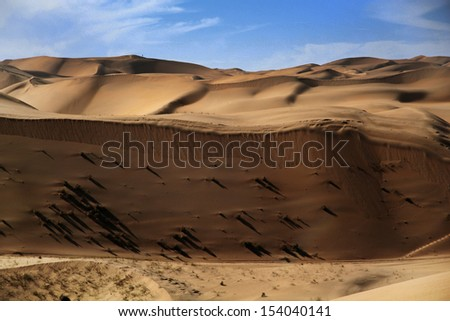 Desert in china