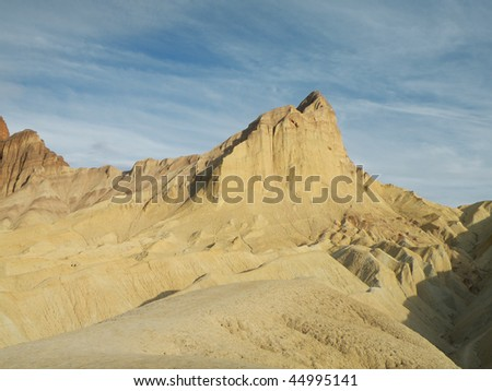 Desert Landscape in Death Valley national park, California
