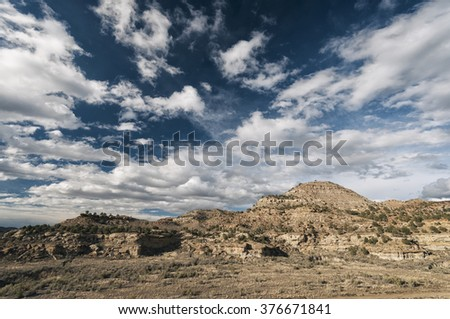 Desert Landscape in Western Colorado, United States