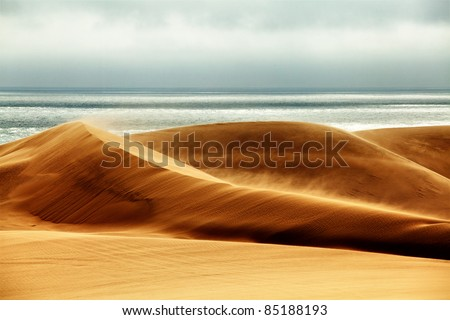 Desert Storm - stock photo