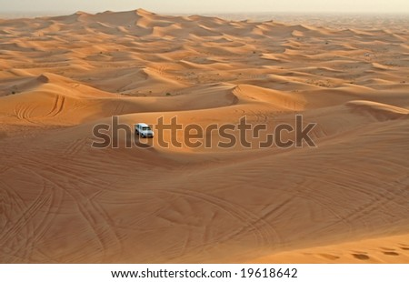 Desert, United Arabian Emirates - stock photo