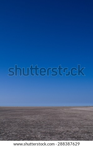 Desertes Landscape - stock photo
