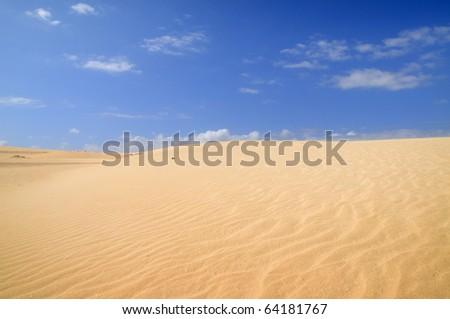 Desierto del Sahara - stock photo