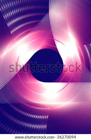 Design background with creative colors and beauty effects.