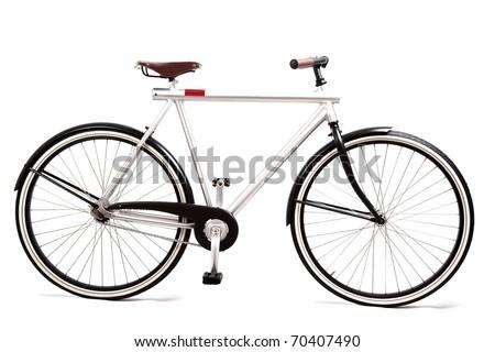 design bike isolated on white - stock photo
