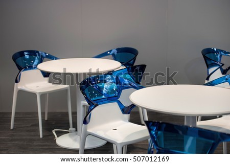 Design chairs and tables