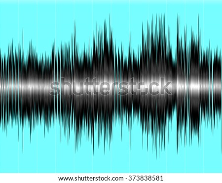 Design colorful abstract digital sound wave background.
