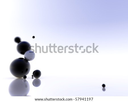 design from sphere isolated white - stock photo