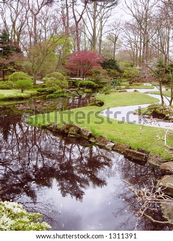 design landscape - stock photo