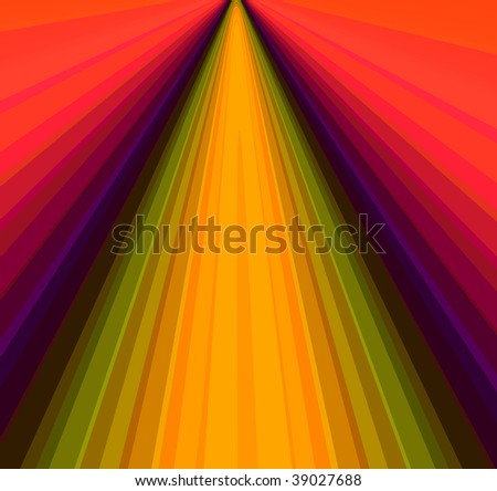 design of colorful lines - stock photo