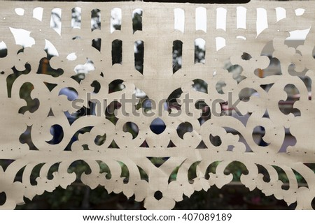 design of cutting white fabric for texture abstract background