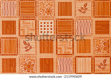Design Of Tile For Pattern And Background. - stock photo