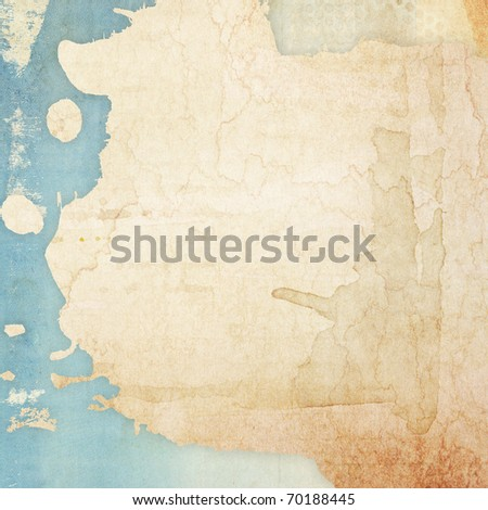 Designed abstract grunge paper background - stock photo
