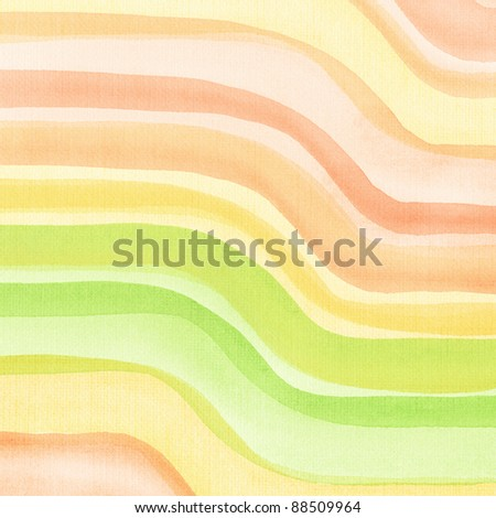 Designed art background. Used watercolor elements. - stock photo