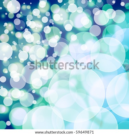 designed colorful bokeh background - stock photo