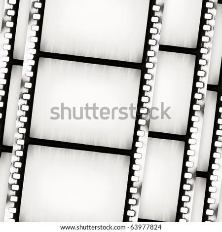 Designed film background - stock photo