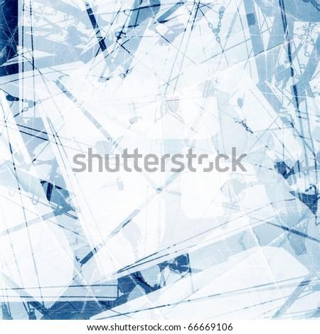 Designed grunge collage background. - stock photo