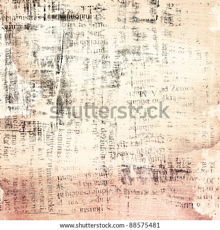 Designed grunge paper background. - stock photo