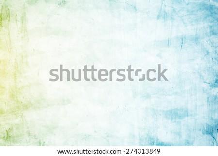 designed grunge texture background, pastel  gradient color - stock photo