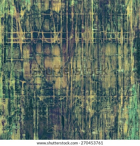 Designed grunge texture or background. With different color patterns: brown; gray; green; purple (violet) - stock photo