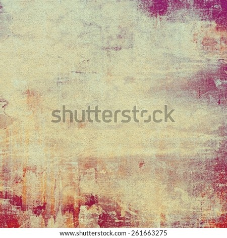 Designed grunge texture or background. With different color patterns: yellow (beige); gray; purple (violet); pink - stock photo